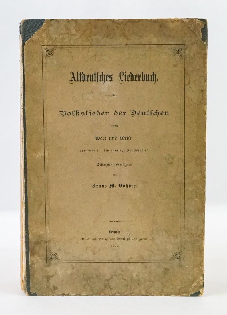 Franz M. Bohme 1877