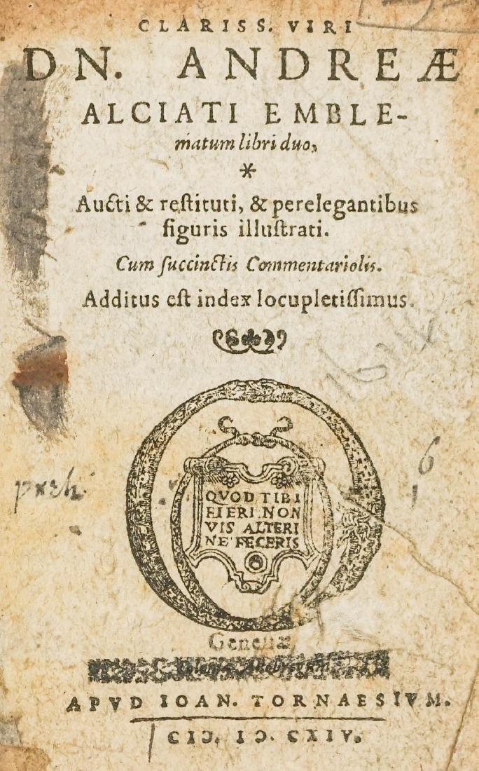 Clariss. Viri Dn. Andreae Alciati 17th Century