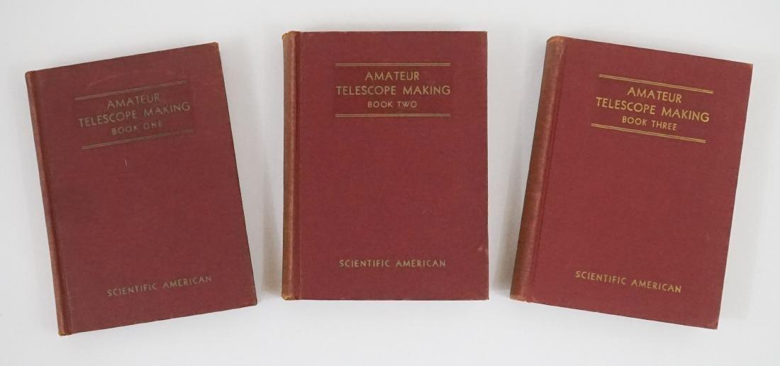 Three Amateur Telescope Making Books