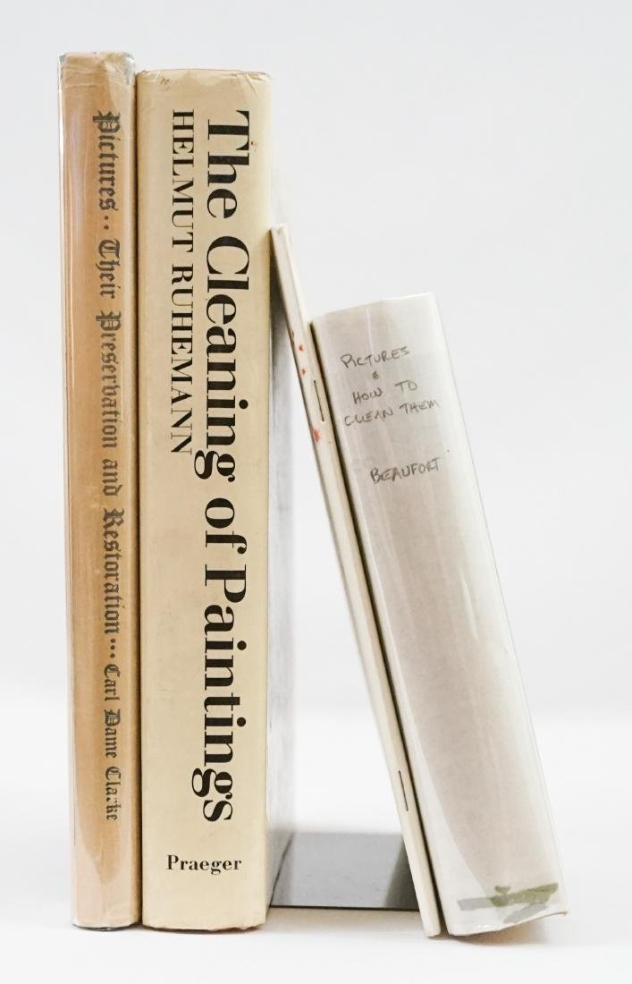 Group of Four Art Cleaning Books