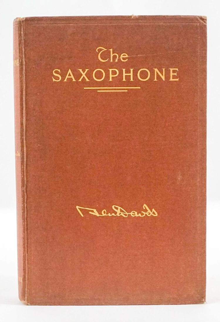 The Saxophone by Ben Davis First Ed.