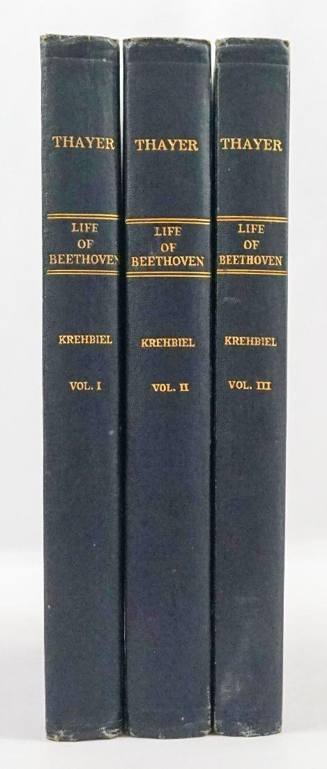 The Life of Ludwig van Beethoven 3 Volumes