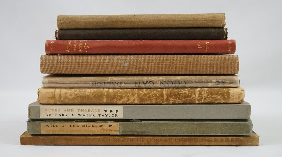 Group of Nine Small Books
