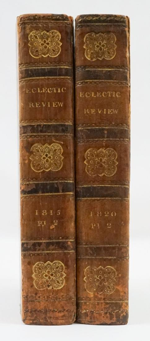 Eclectic Review 2 Volumes 1815 and 1820