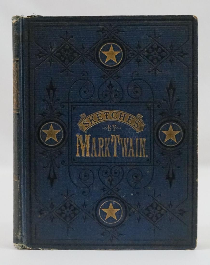 Mark Twain's Sketches 1875 True First Ed.
