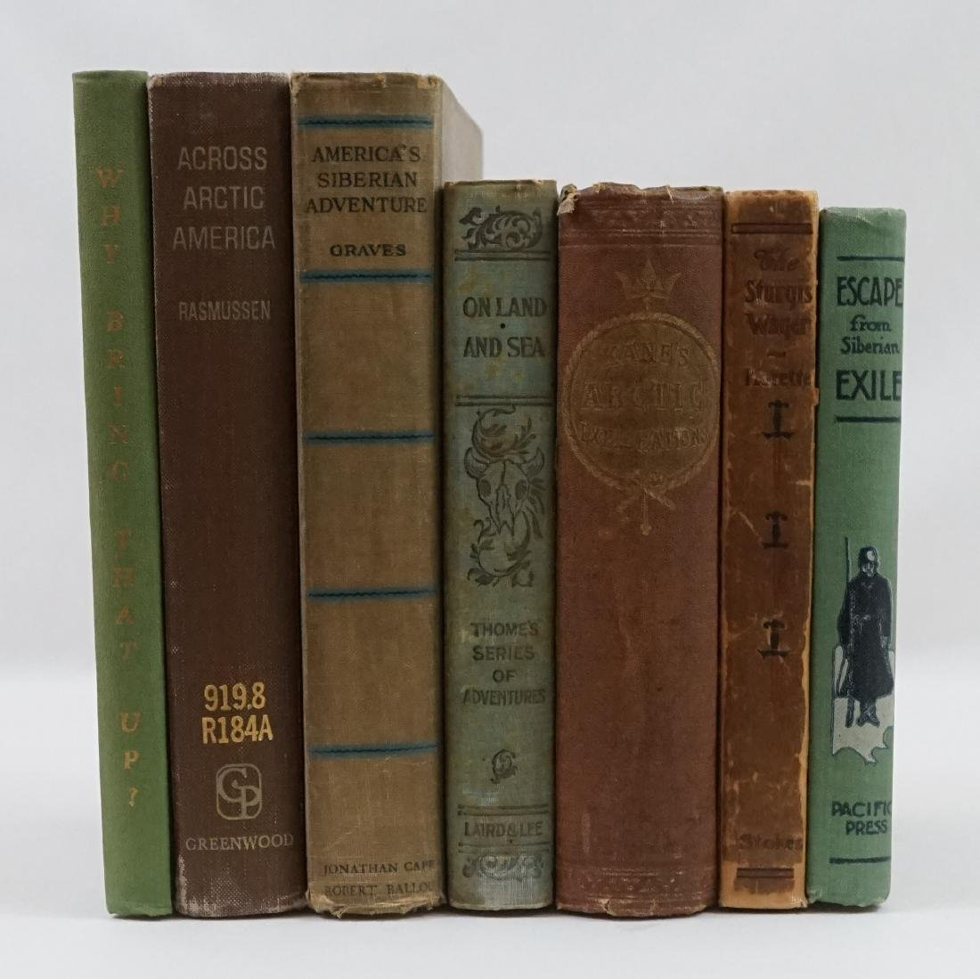 Group of Seven Arctic Books