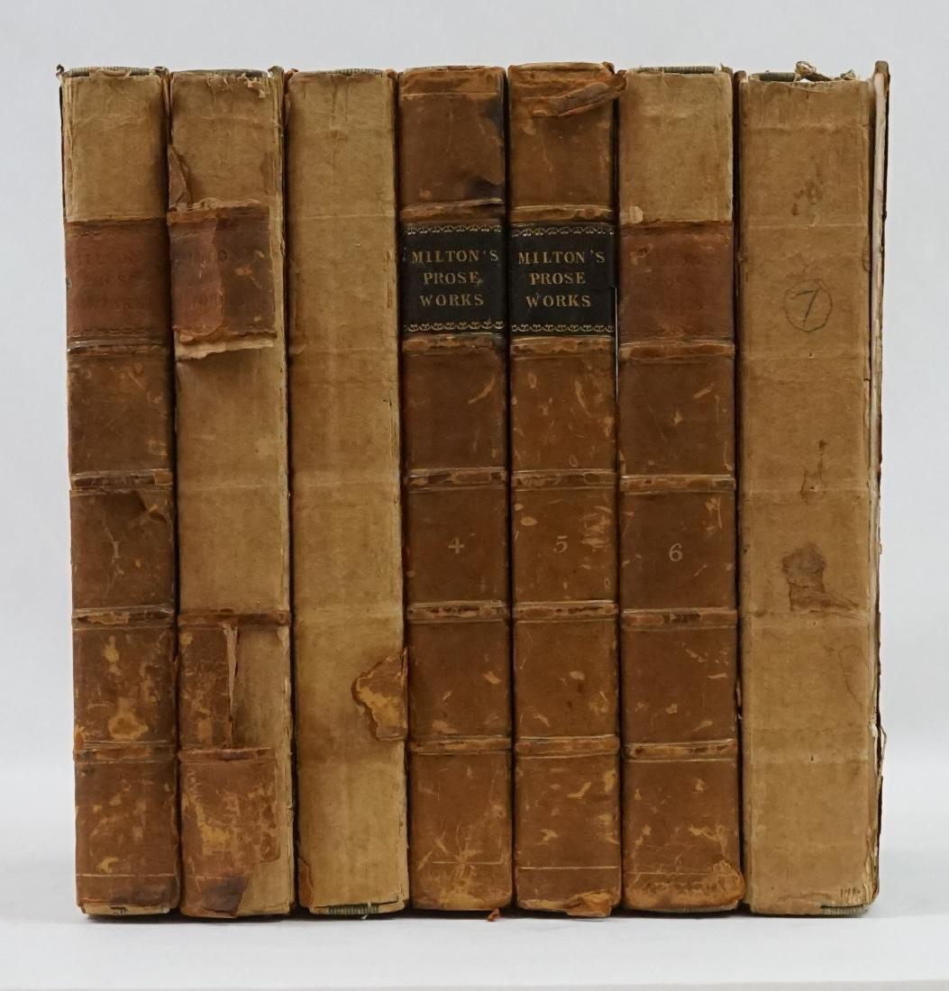 The Prose Works of John Milton 7 Volumes