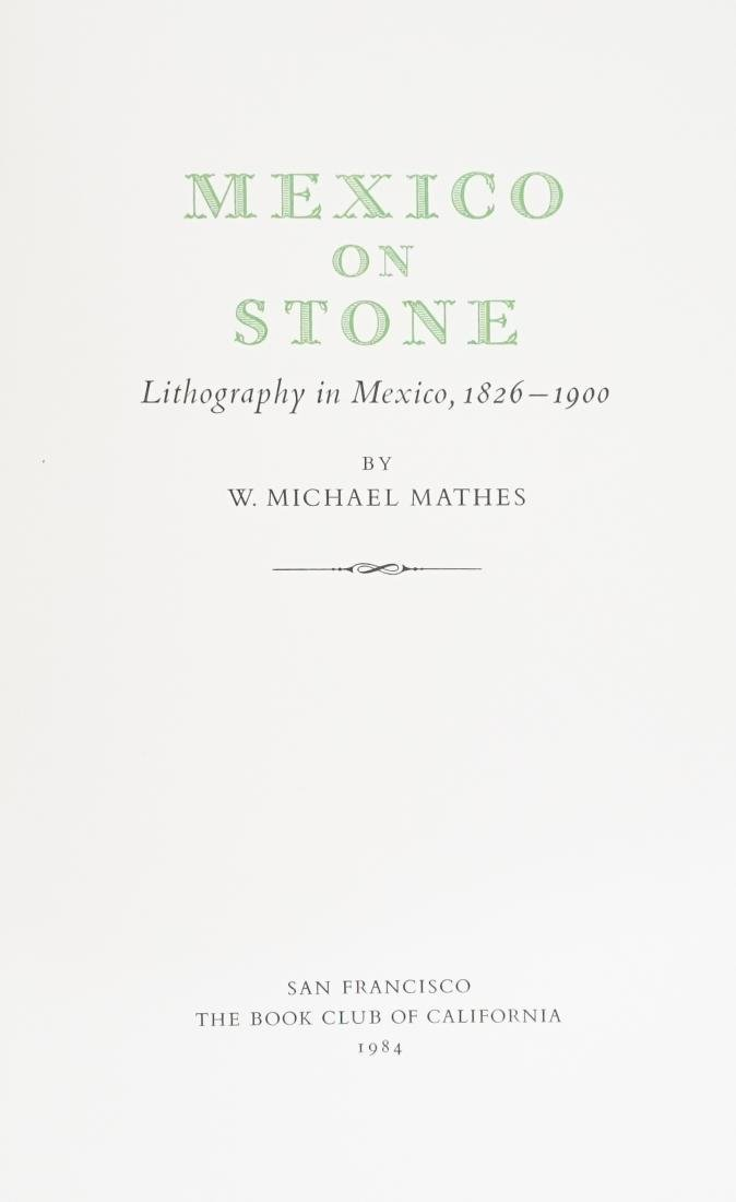 Mexico on Stone by W. Michael Mathes