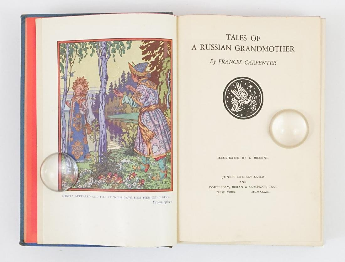 Tales of a Russian Grandmother 1933, First Ed.