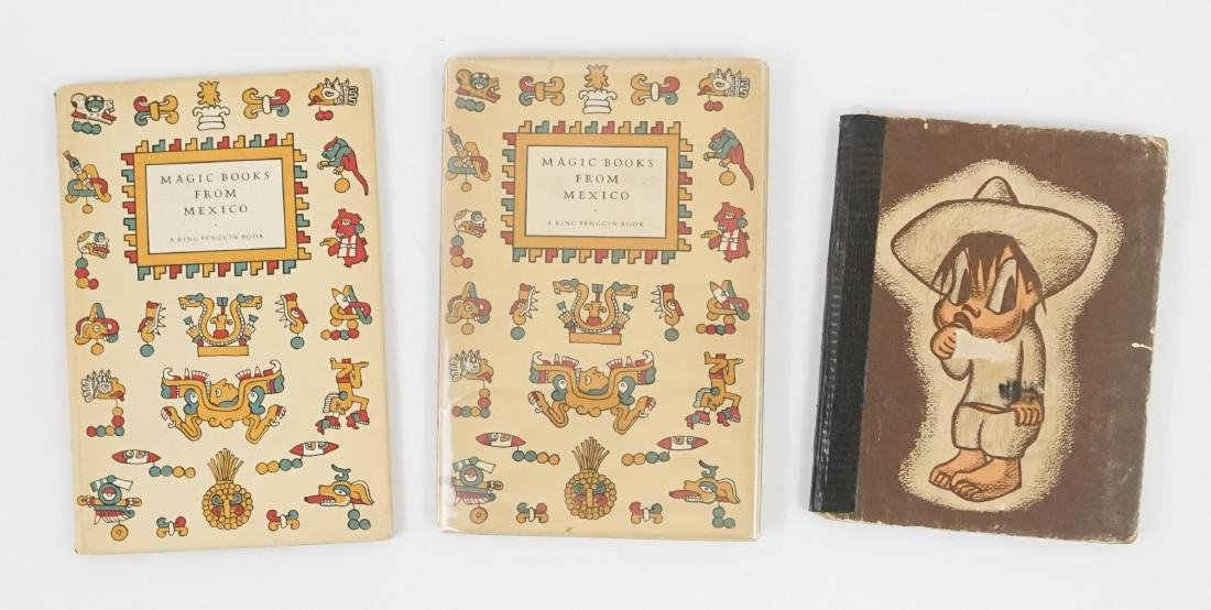 2 Magic Books from Mexico; and Little Pancho