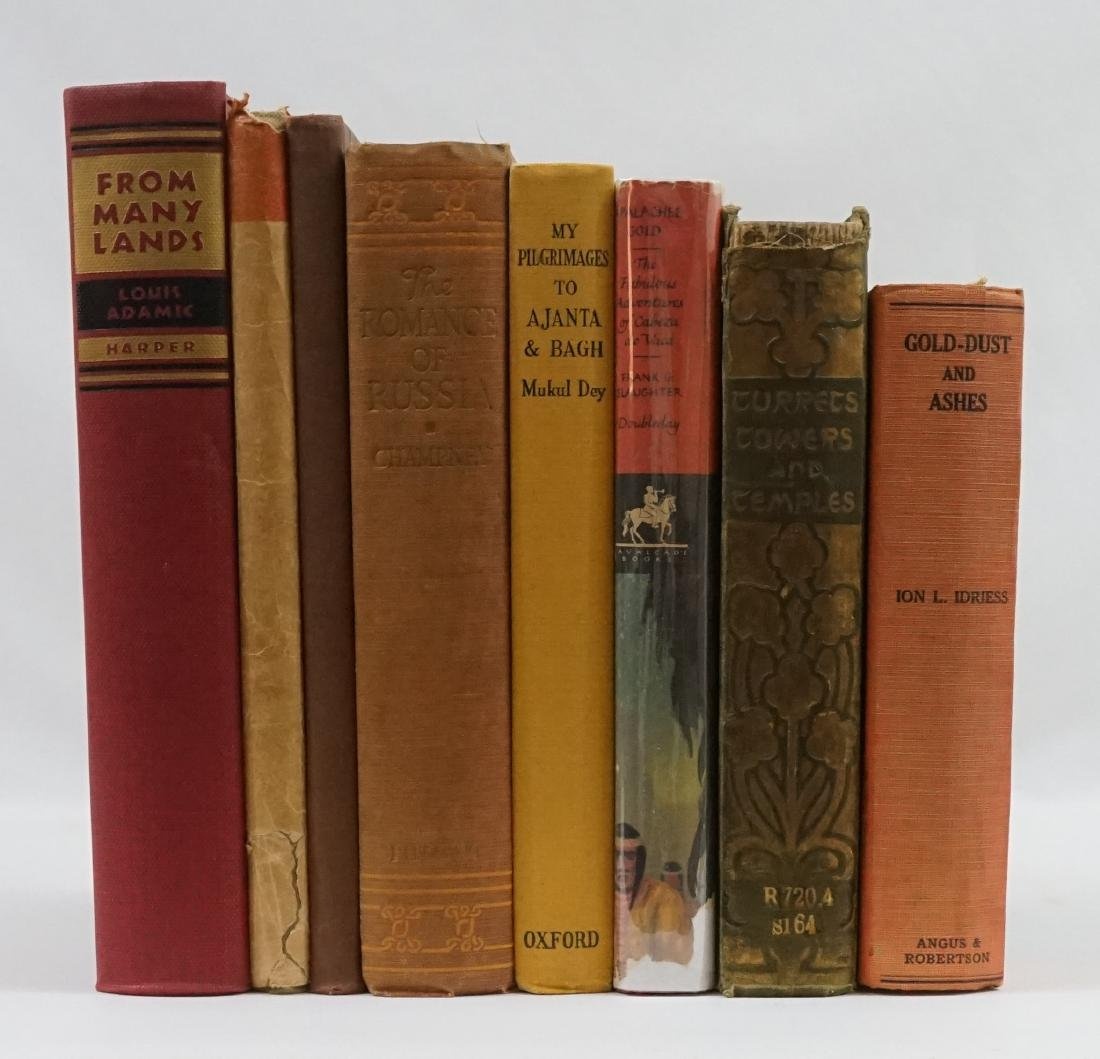 Group of Eight Travel / Adventure Books