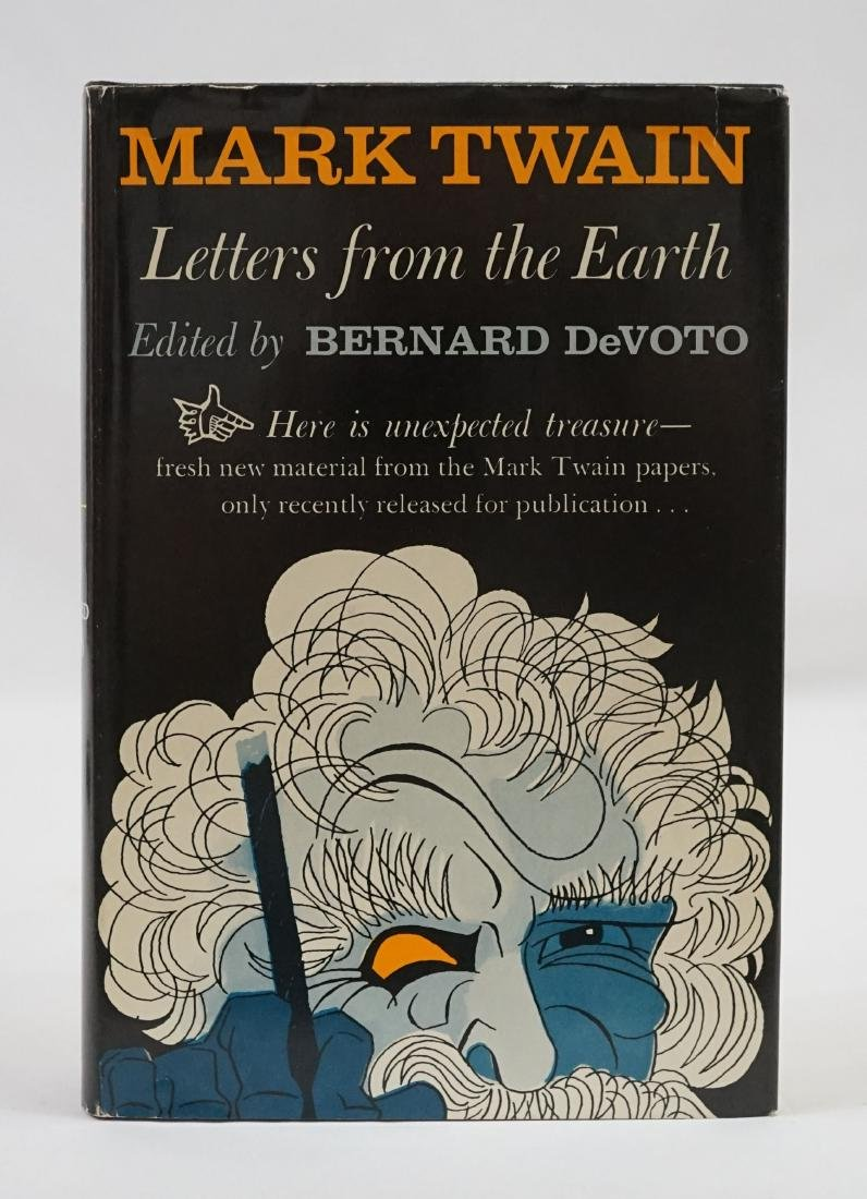 Letters from the Earth by Mark Twain, 1962