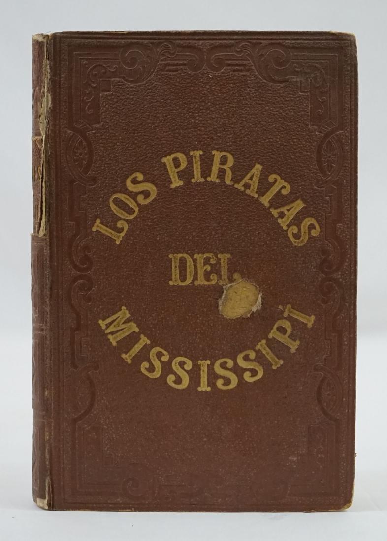 Los Piratas del Mississipi 1860 Spanish ed.