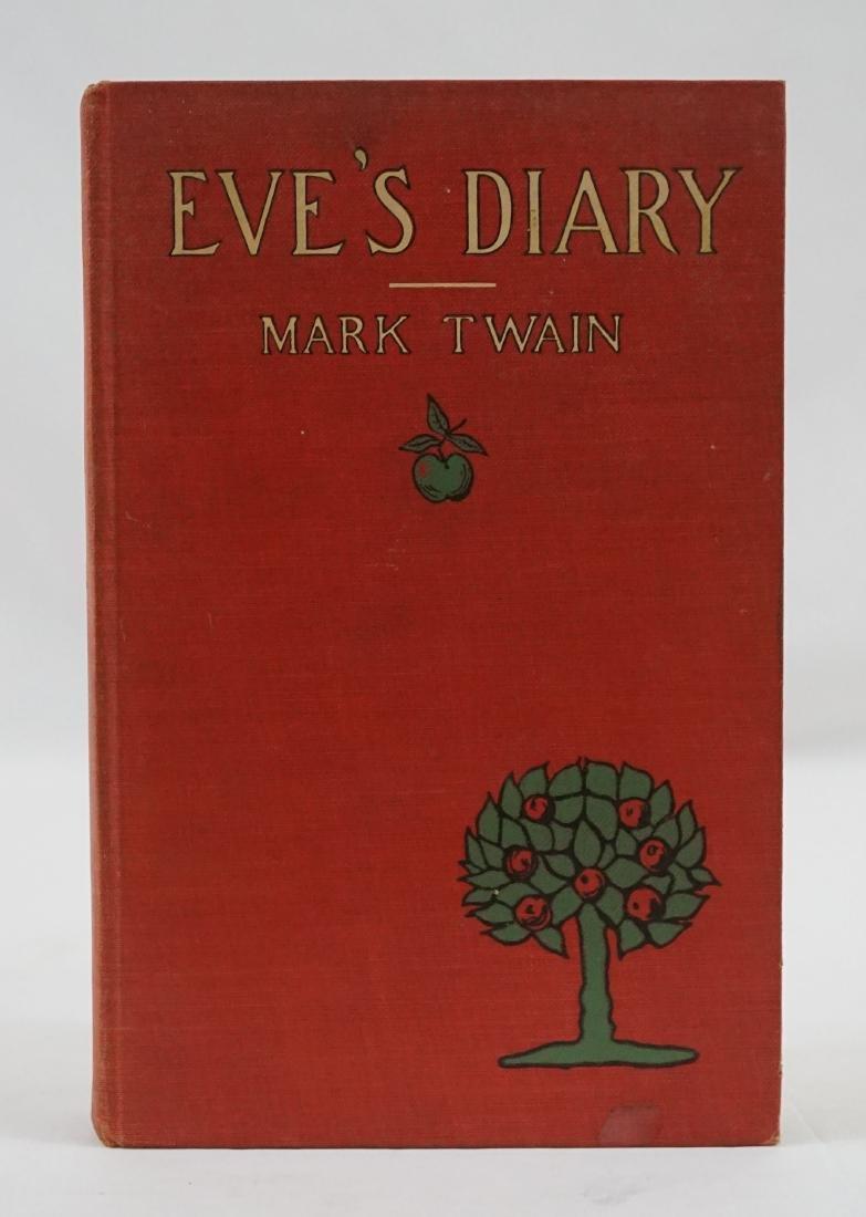 Eve's Diary by Mark Twain 1906, First Ed.