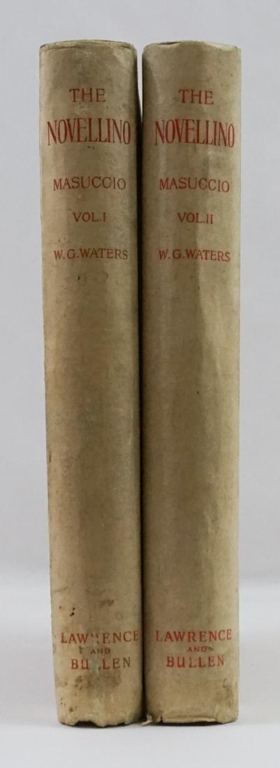 The Novellino of Masuccio 2 Vol. 1895