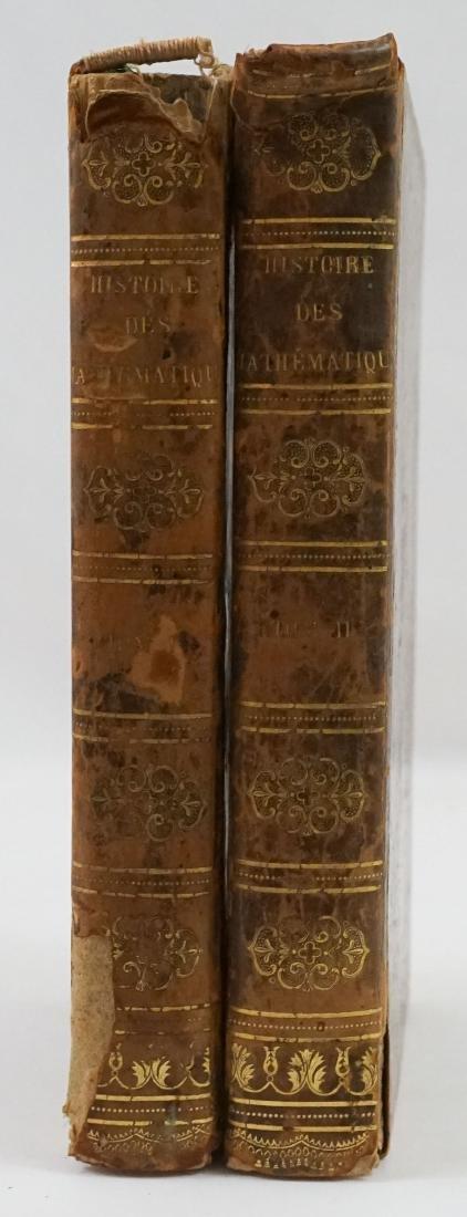 Histoire Generale des Mathematiques 1810 (2 Vol)