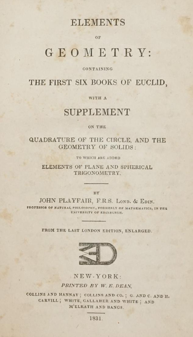 Elements of Geometry 1831