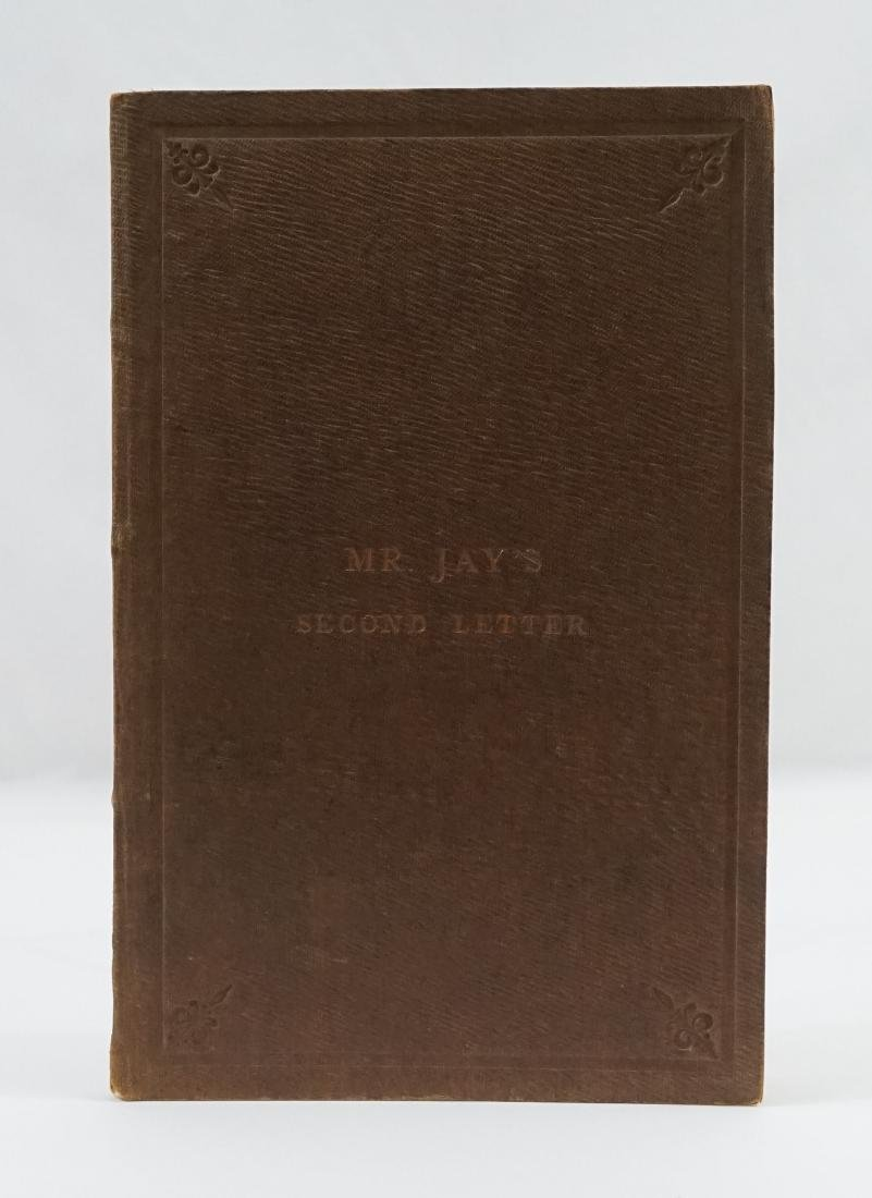 Mr. Jay's Second Letter 1864