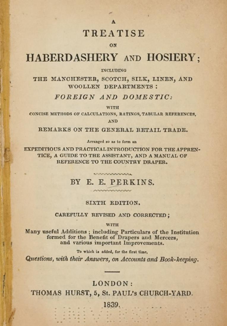 Treatise of Haberdashery and Hosiery 1839