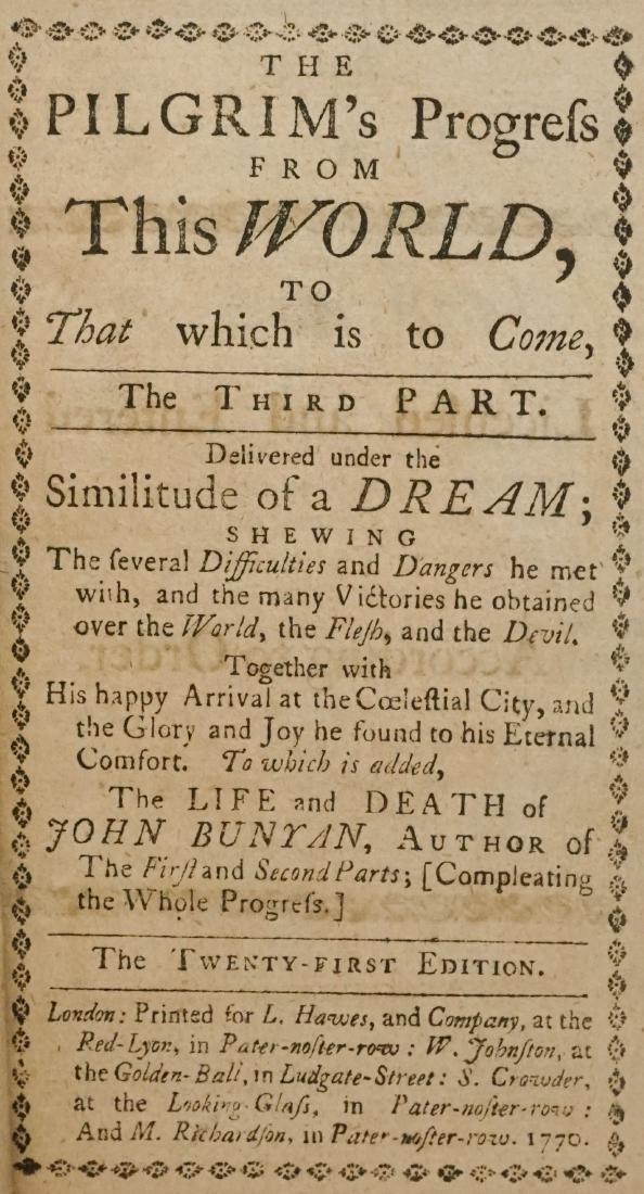 The Pilgrim's Progress from this World 1770