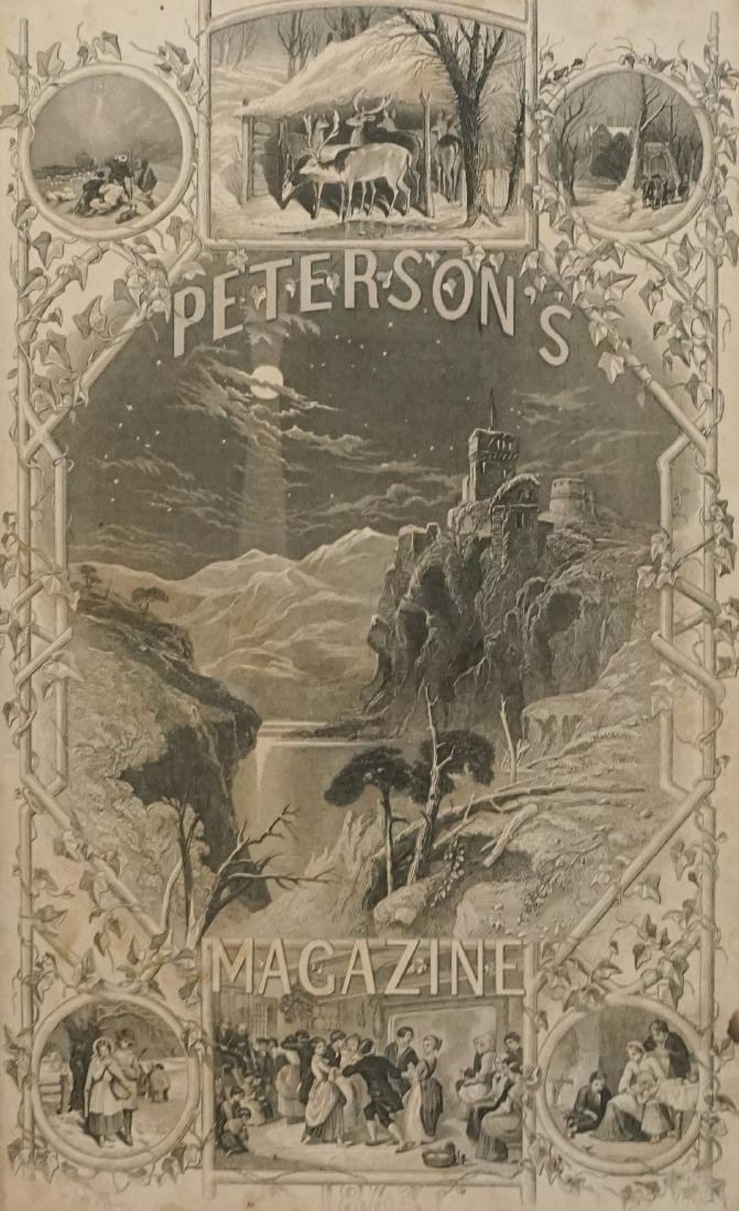 Peterson's Magazine January to June 1862