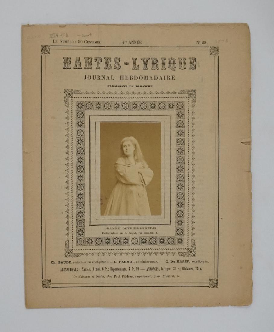 Albumen Photo Journal Hebdomadaire 1875