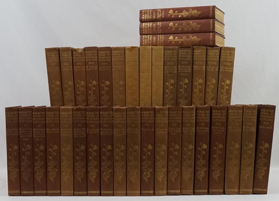 The Works of Rudyard Kipling 36 Vol.