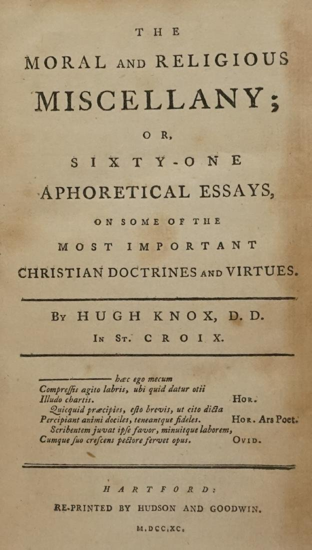The Moral and Religious Miscellany 1790