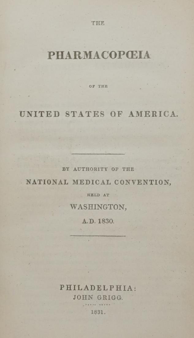 Pharmacopoeia 1831
