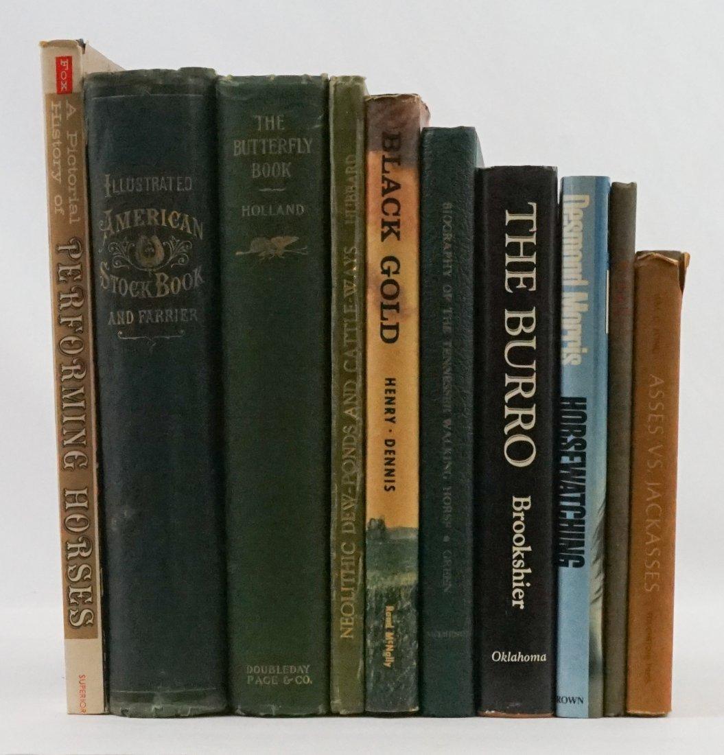 Group of Nine Animal Books