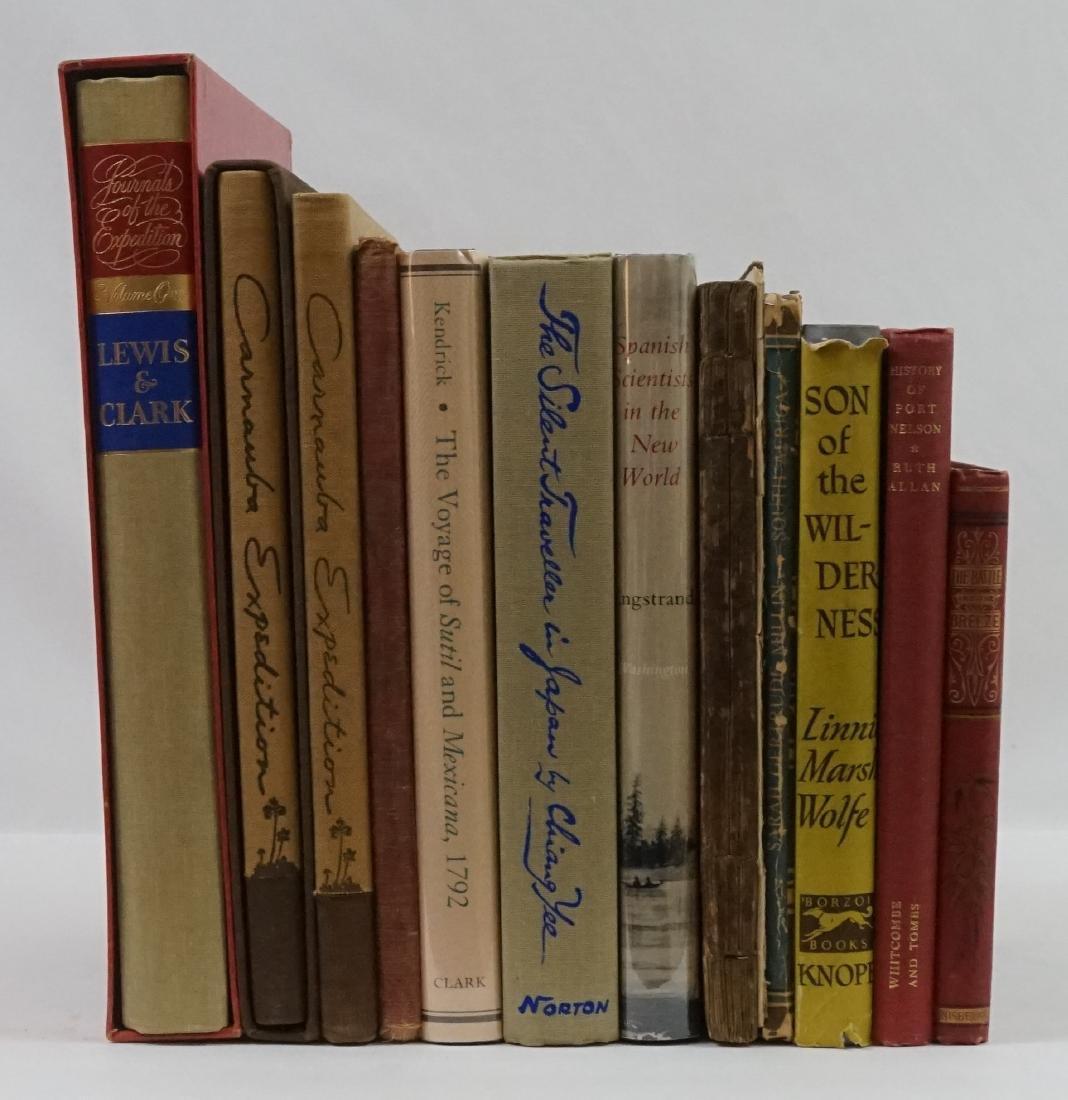 Group of Ten Exploration/Travel Books