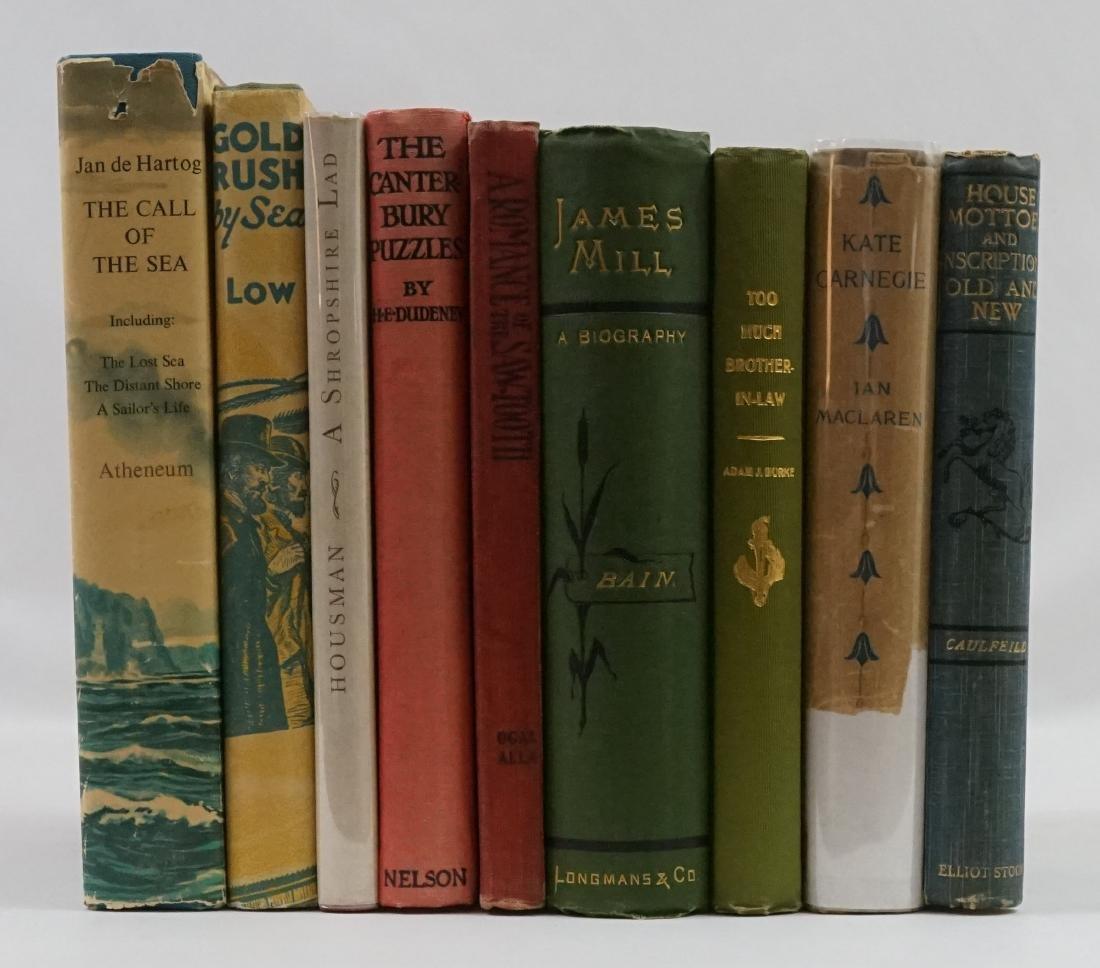 Group of Nine Books