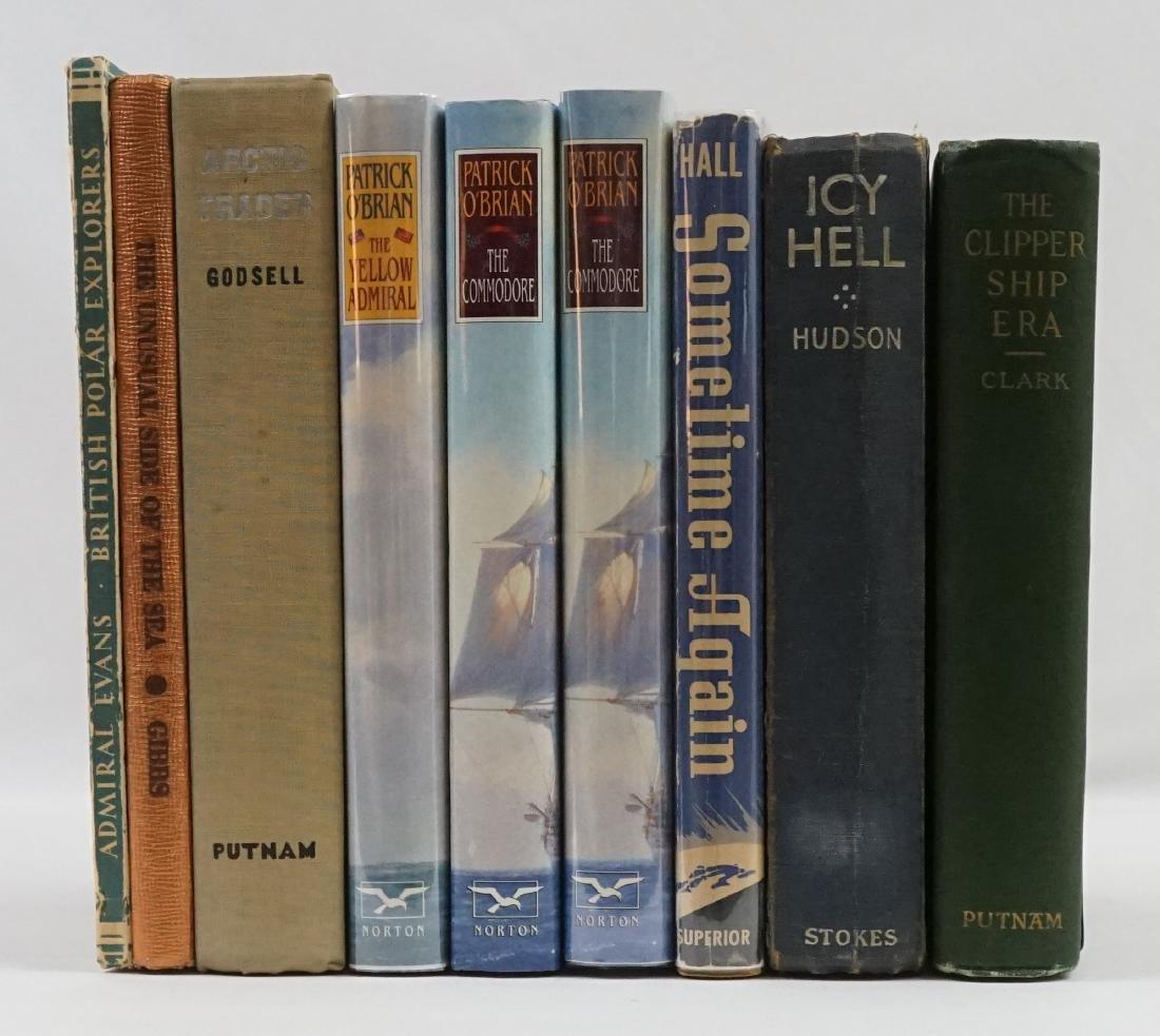 Group of Nine Travel/Exploration Books