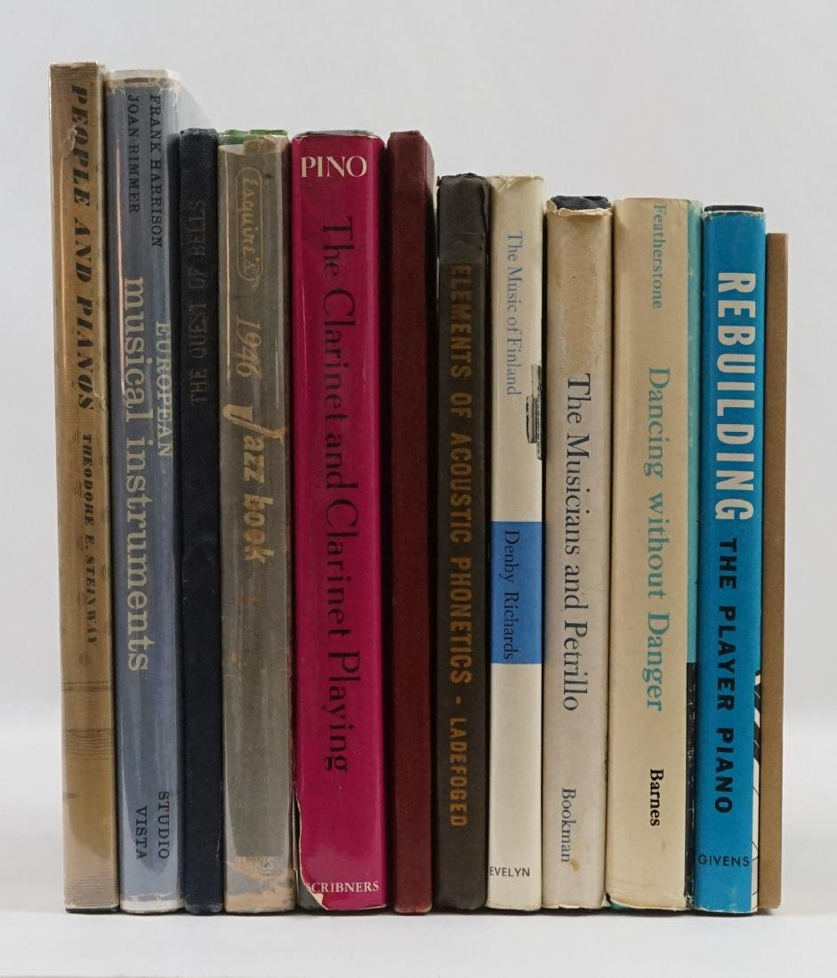 Group of Eleven Music Books