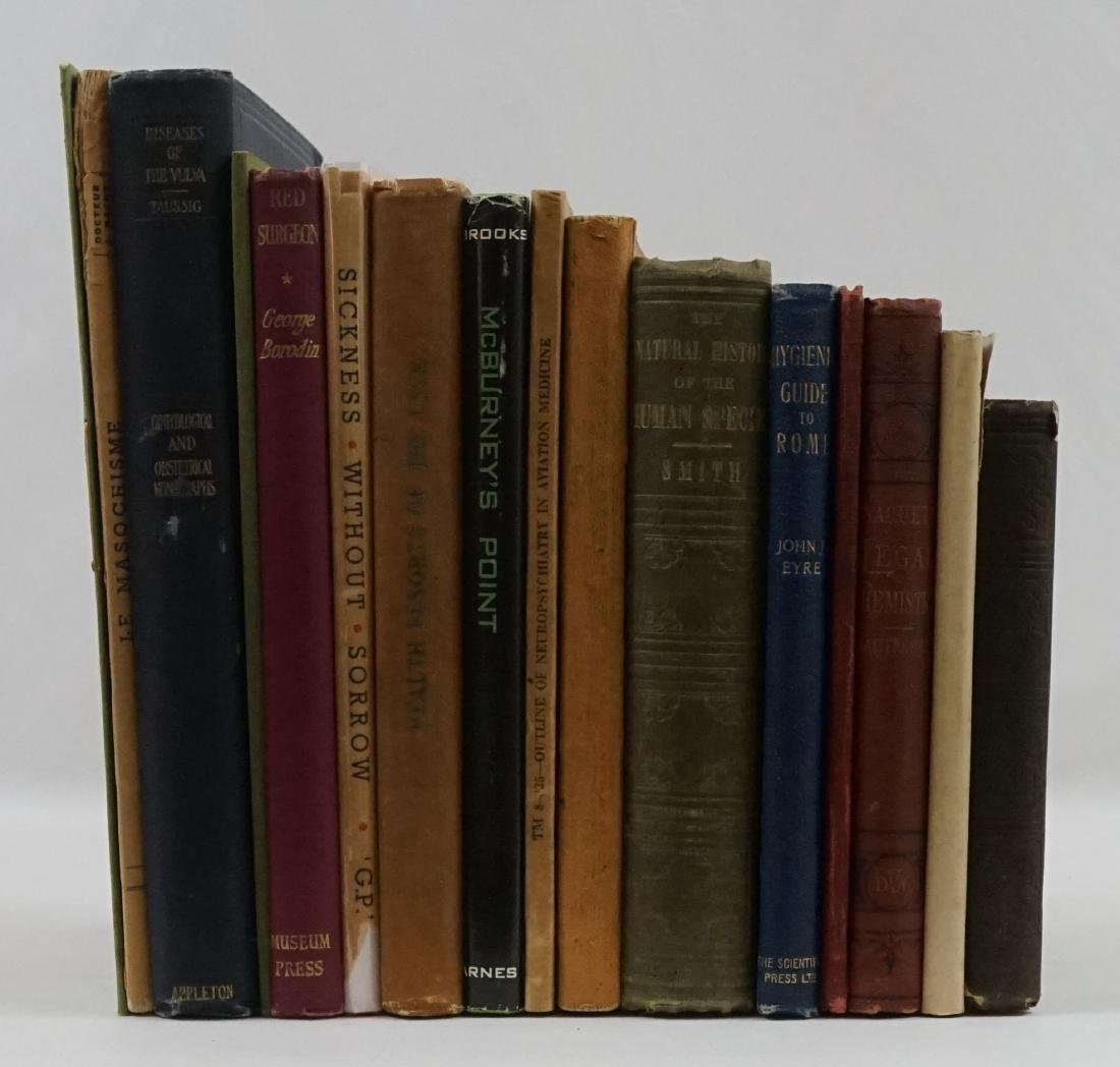 Group of Sixteen Medical Books