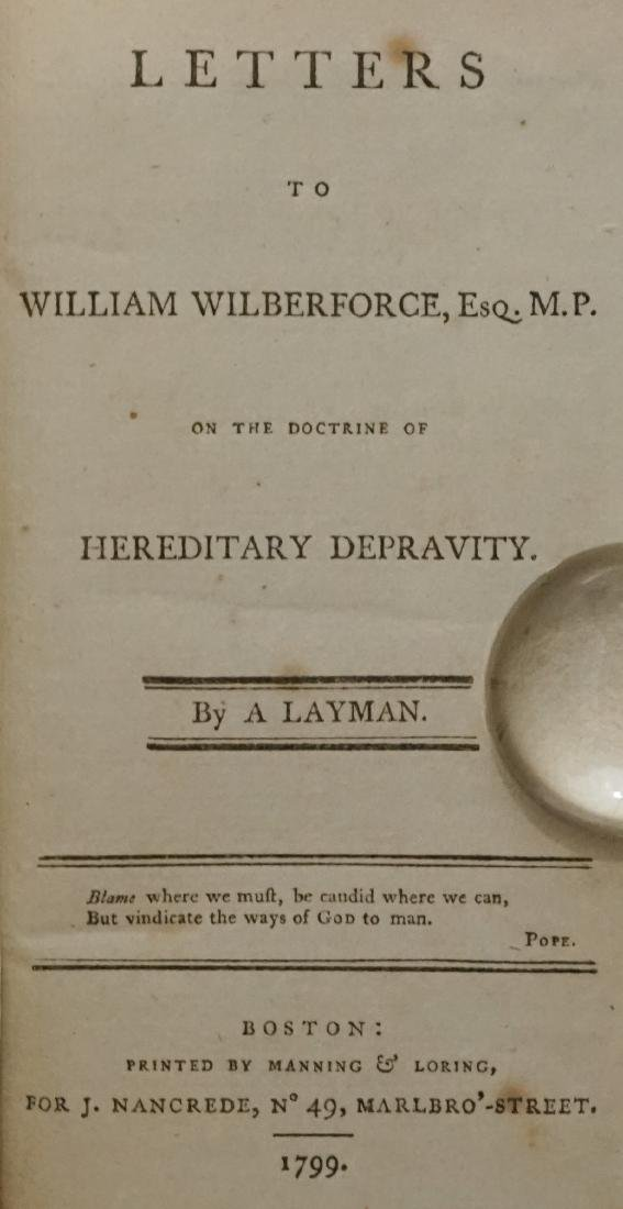 Letters to William Wilberforce 1799