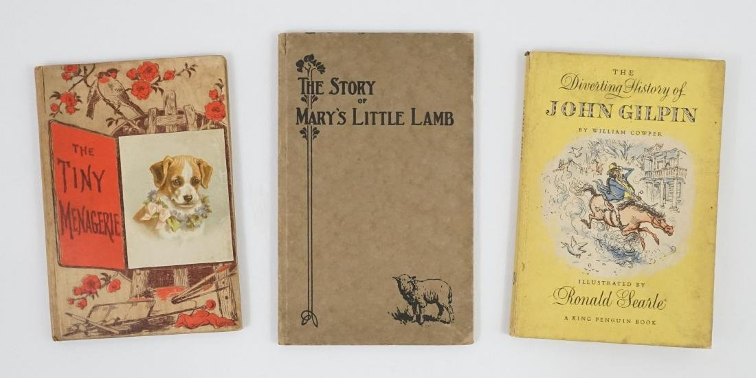 Group of Three Story Books