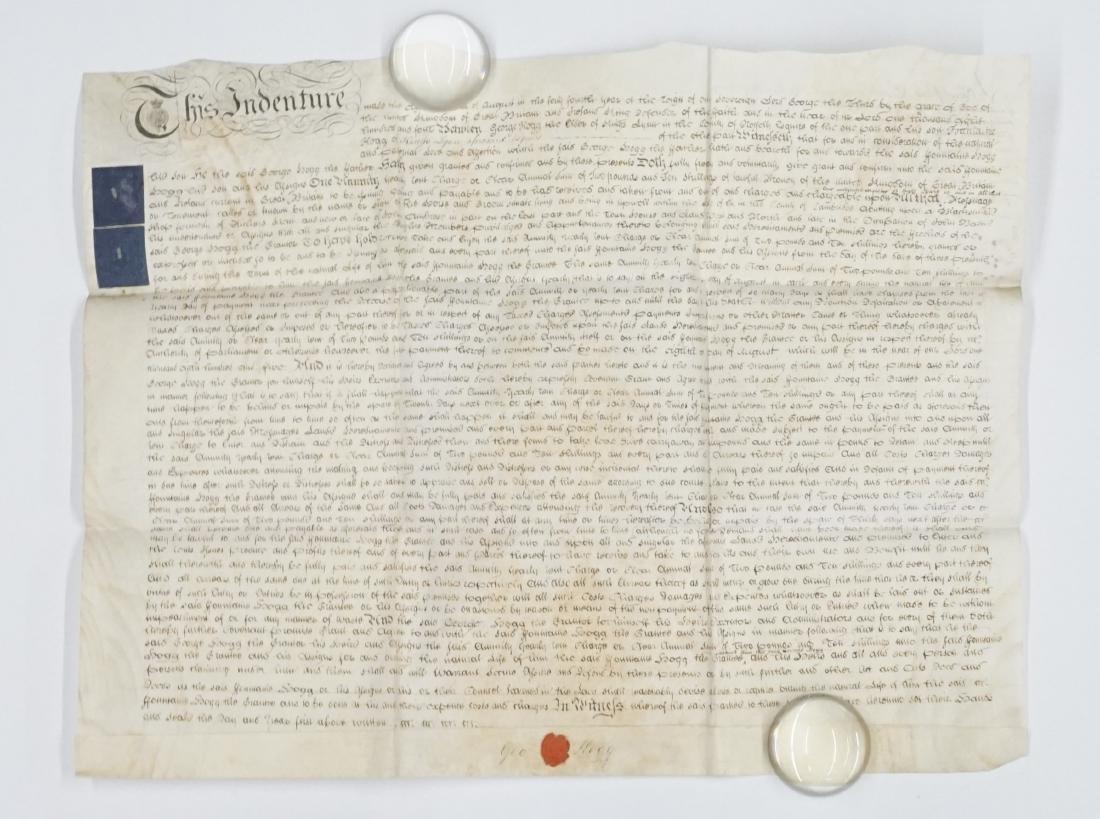 1804 George III Handwritten Indenture