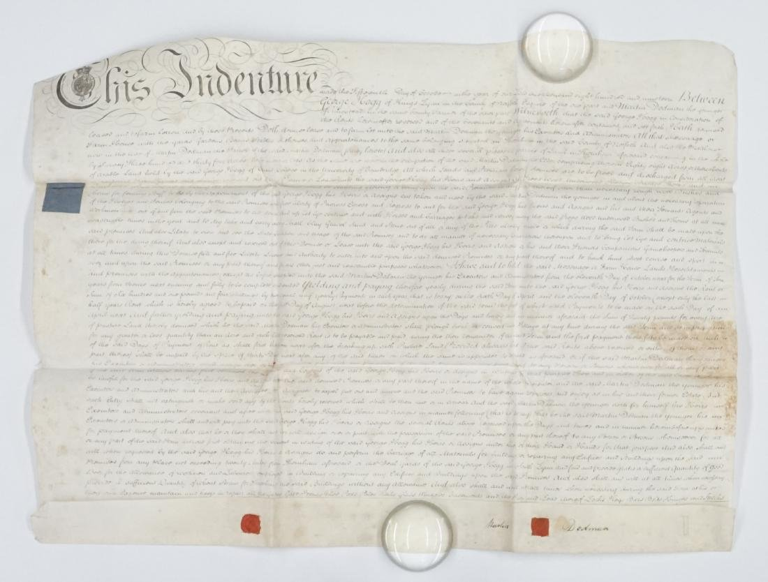 1819 George III Handwritten Indenture