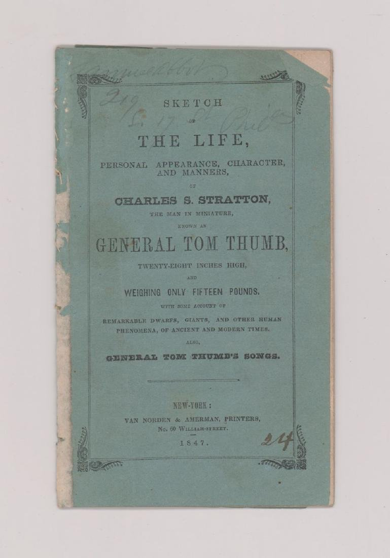 General Tom Thumb, 1847 Edition