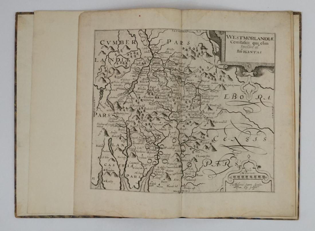 Saxton /Camden Cumberland Maps, c.1610