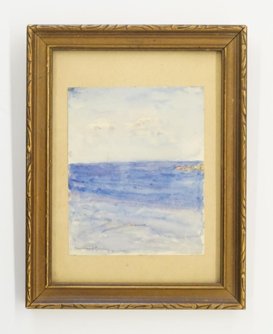 Robert Gauley Small Framed Watercolor