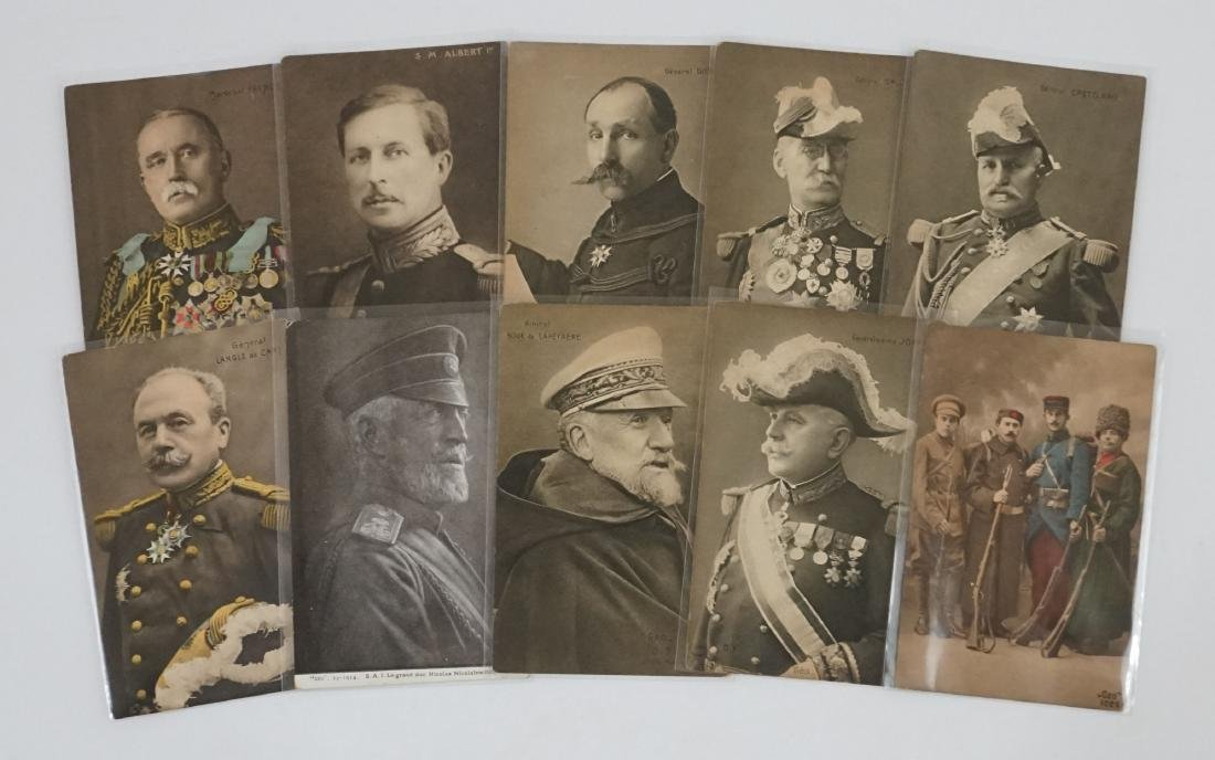 World War I Military Leaders Postcards, 10