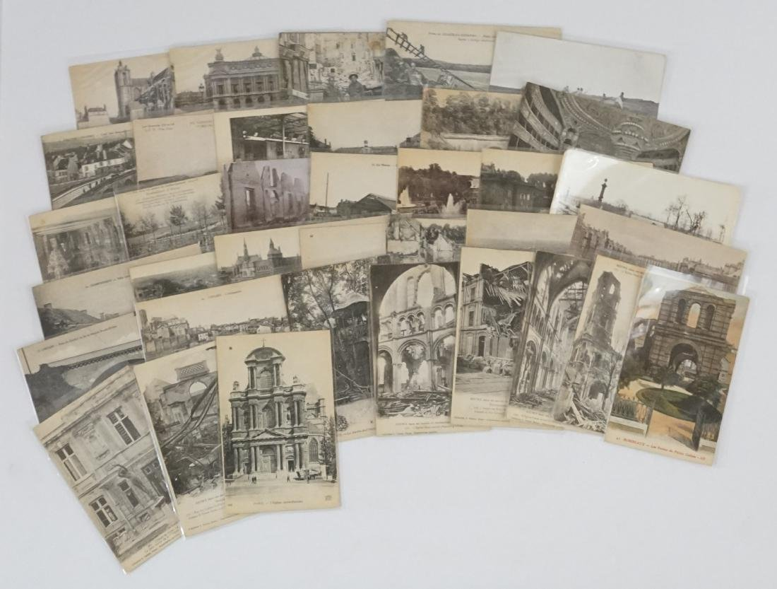 Thirty-six World War I Postcards Handwritten