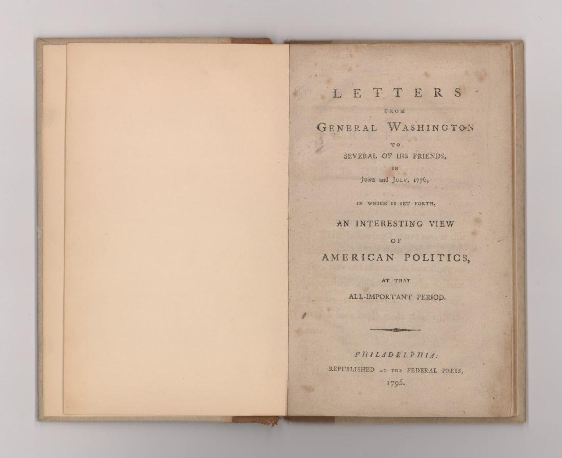 1795 Letters From George Washington