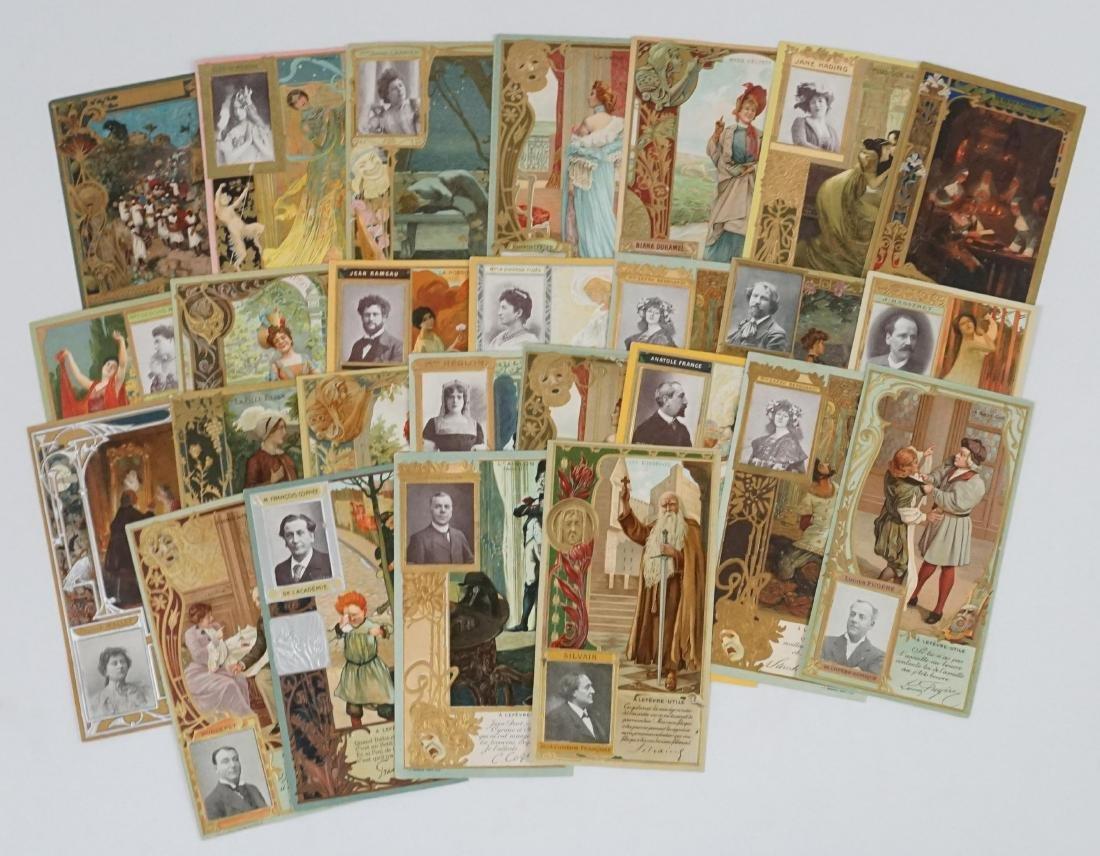 Group of Twenty-Six Lefevre-Utile Trade Cards
