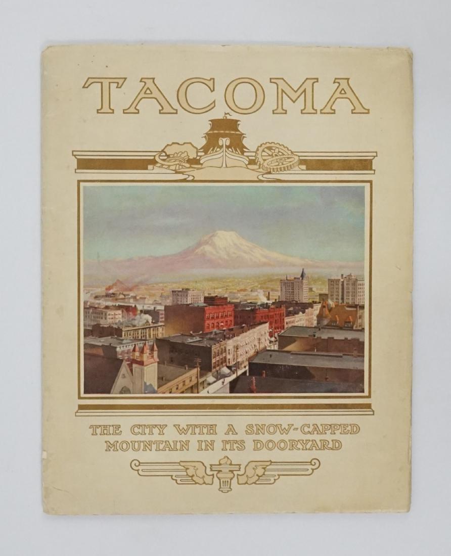 1912 Tacoma, Wa. Souvenir Booklet