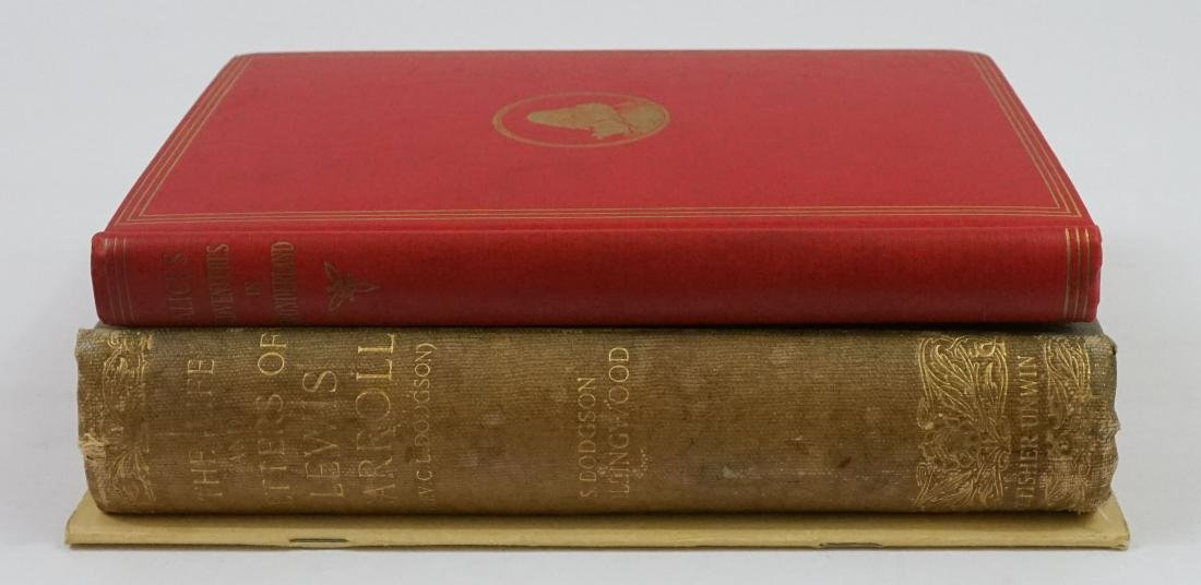 Group of Three Books Lewis Carroll