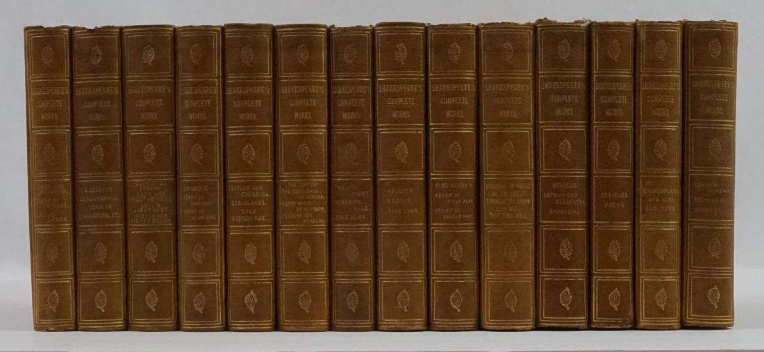 Shakespeare's Complete Works 14 Volumes