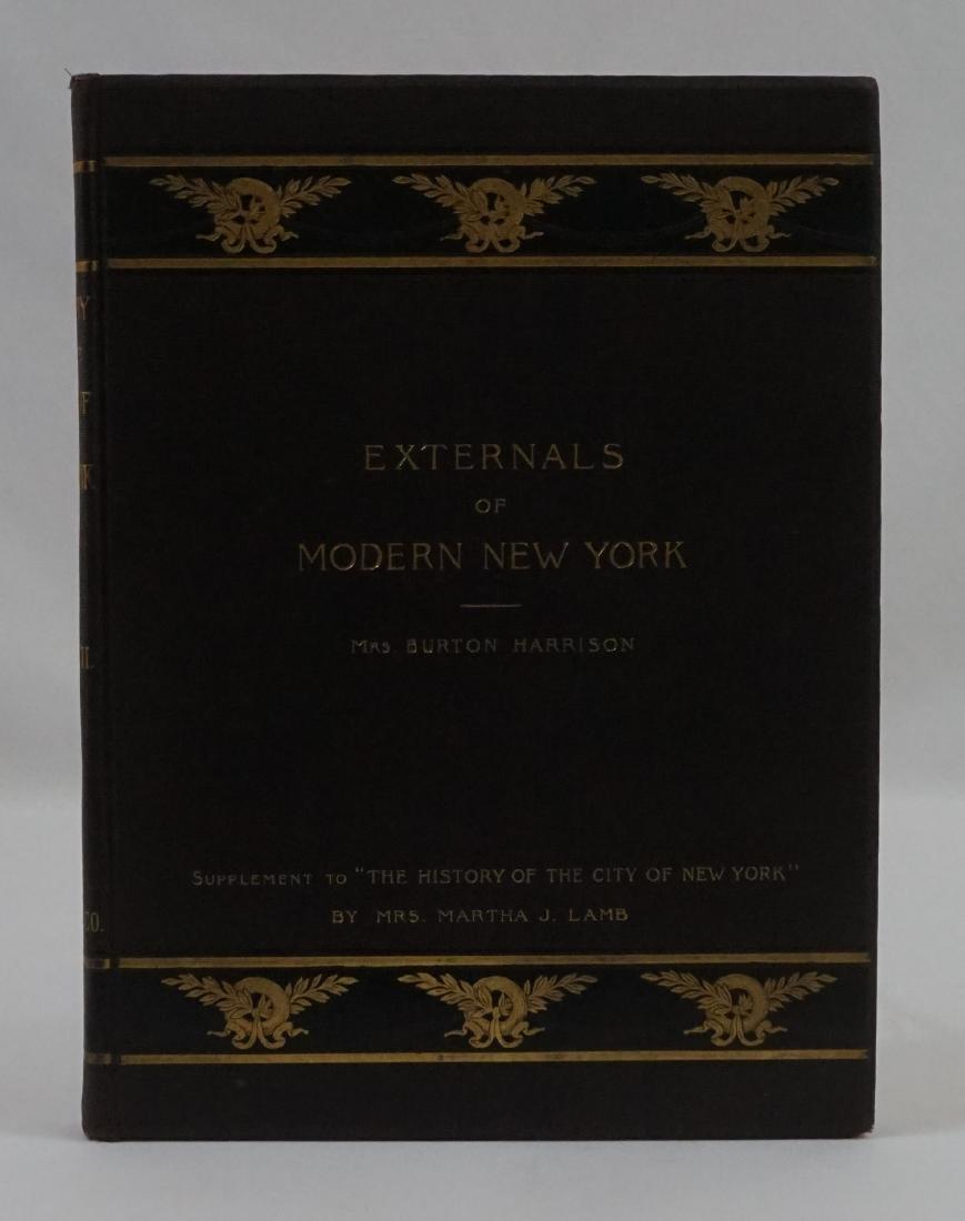 Externals of Modern New York by Burton